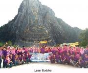 laser-buddha